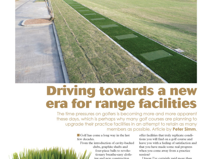 Driving Towards a New Era for Range Facilities