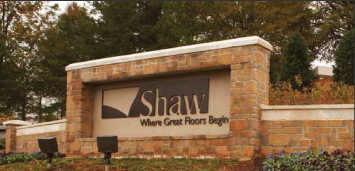 Shaw Industries Entrance