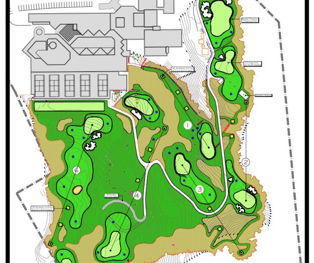 Six Hole Synthetic Compact Course At Clearwater Bay Golf & Country Club, Hong Kong